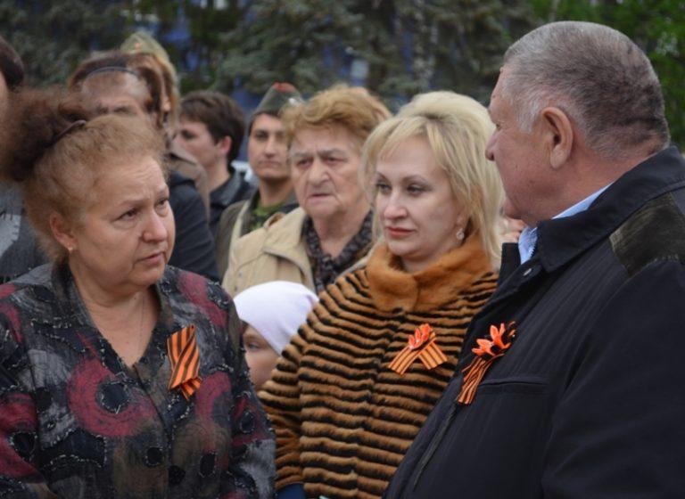Праднование дня Победы в п. Константиновка